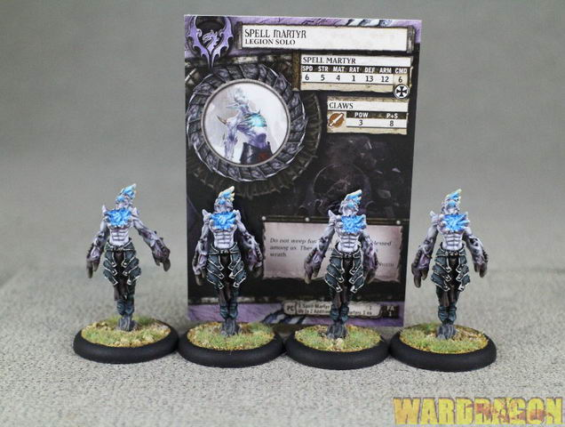 LEGION OF EVERBLIGHT 3 spell martyr #1 Hordes